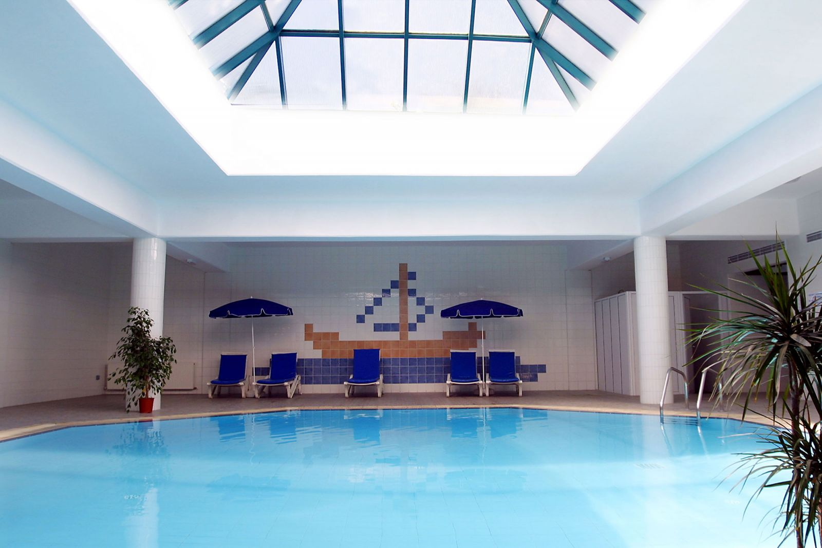 Kissos Hotel Paphos Cyprus Indoor Swimming Pool